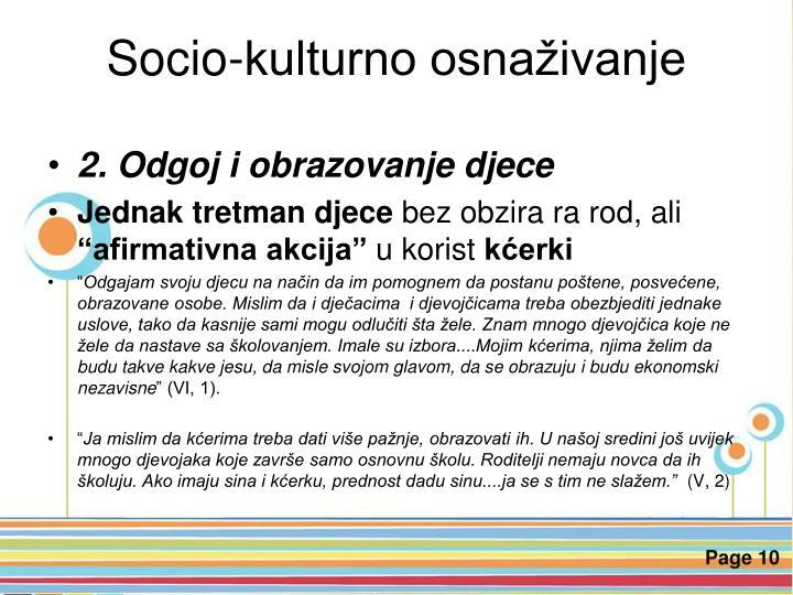 Socio-kulturno osnaživanje