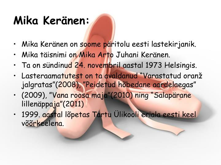 Mika Keränen: