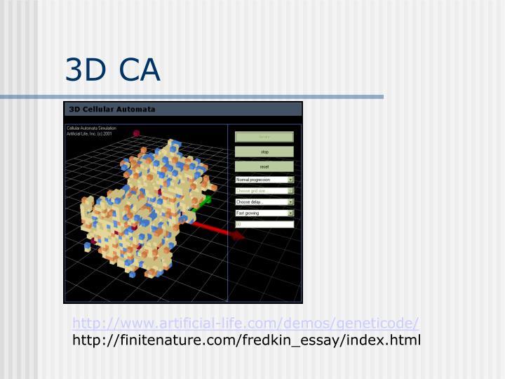 3D CA