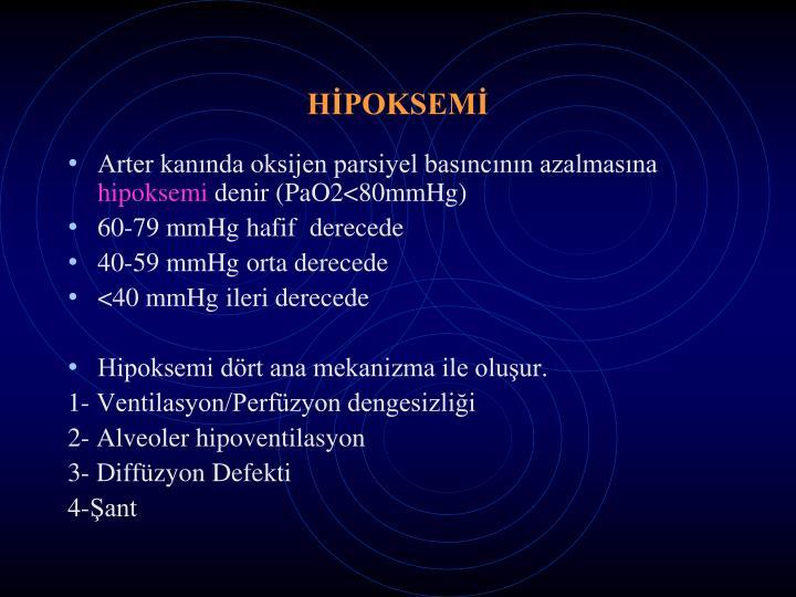 HİPOKSEMİ