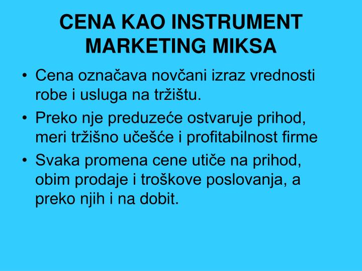 CENA KAO INSTRUMENT MARKETING MIKSA