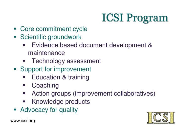ICSI Program