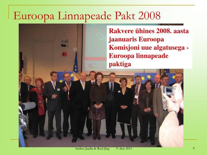 Euroopa Linnapeade Pakt 2008