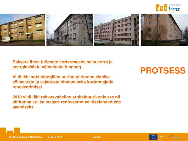 Rakvere linna tüüpsete kortermajade seisukorra ja energiasäästu võimaluste hinnang