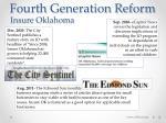 fourth generation reform