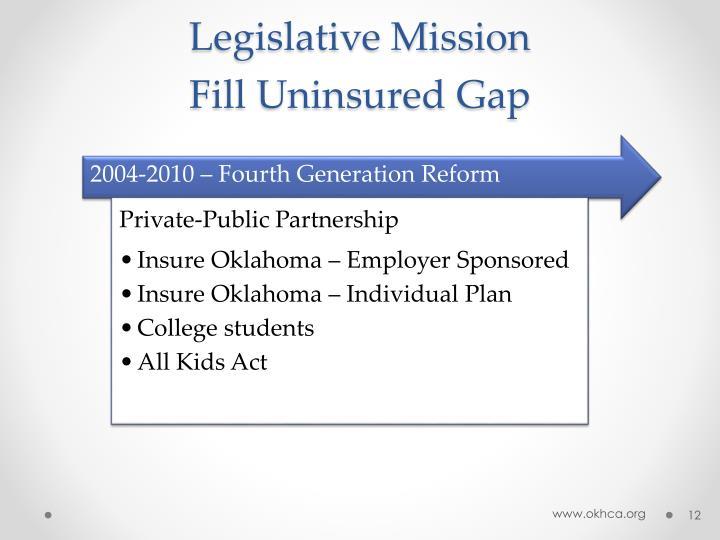 Legislative Mission