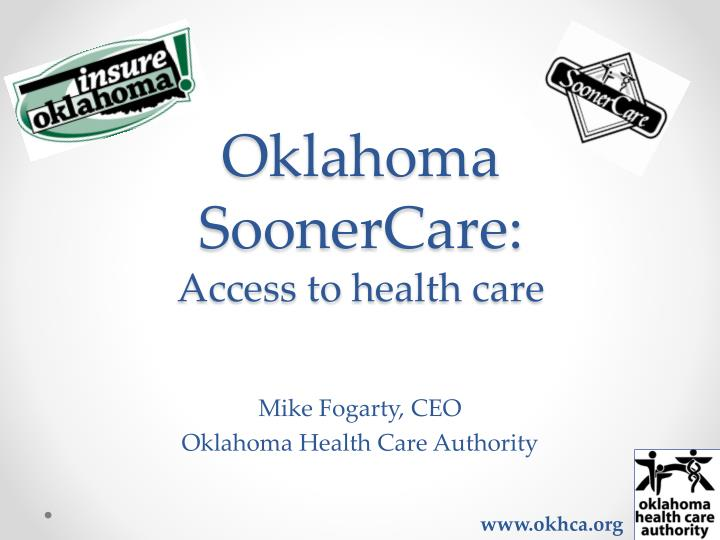 Oklahoma soonercare access to h ealth care