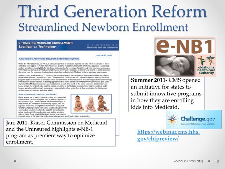 Third Generation Reform