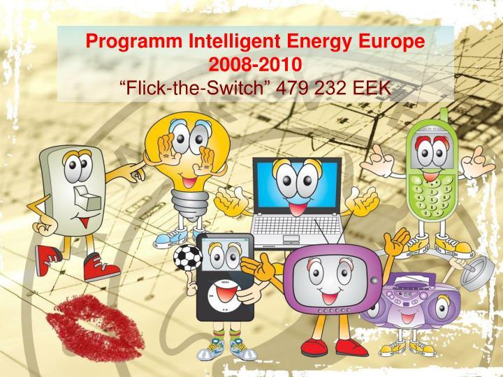 Programm Intelligent Energy Europe 2008-2010