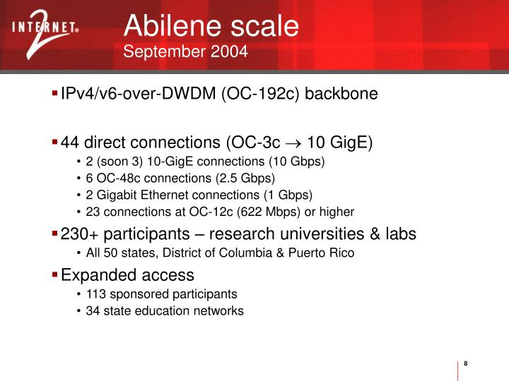 Abilene scale