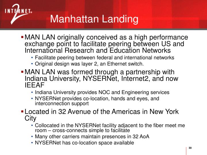 Manhattan Landing