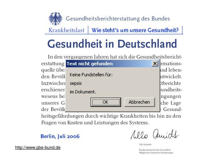 http://www.gbe-bund.de