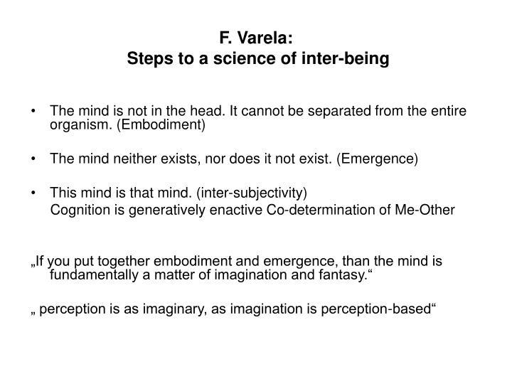 F. Varela: