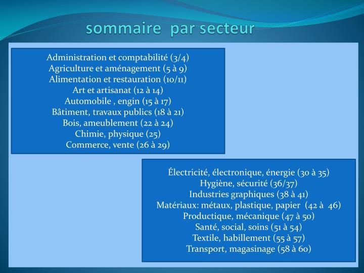 Administration et comptabilité (3/4)