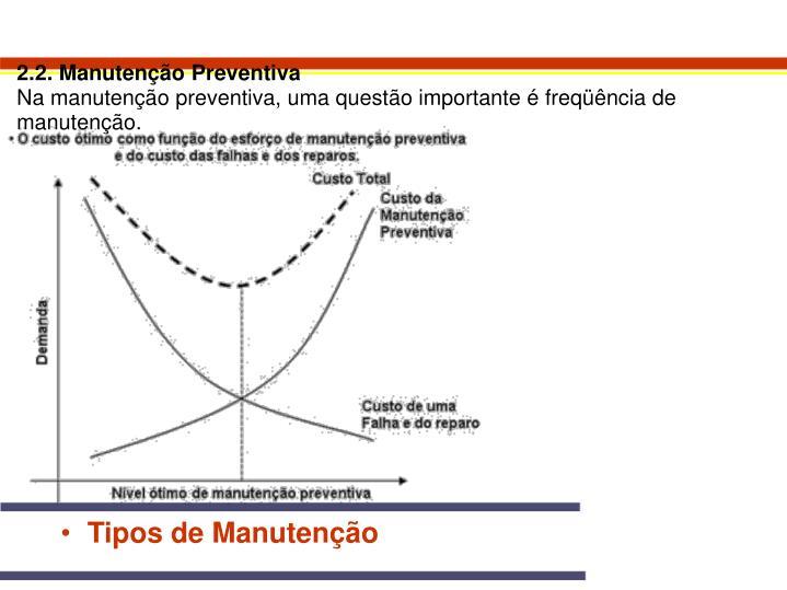 2.2. Manutenção Preventiva
