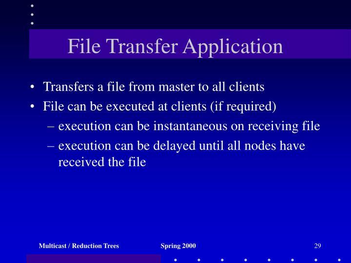 File Transfer Application