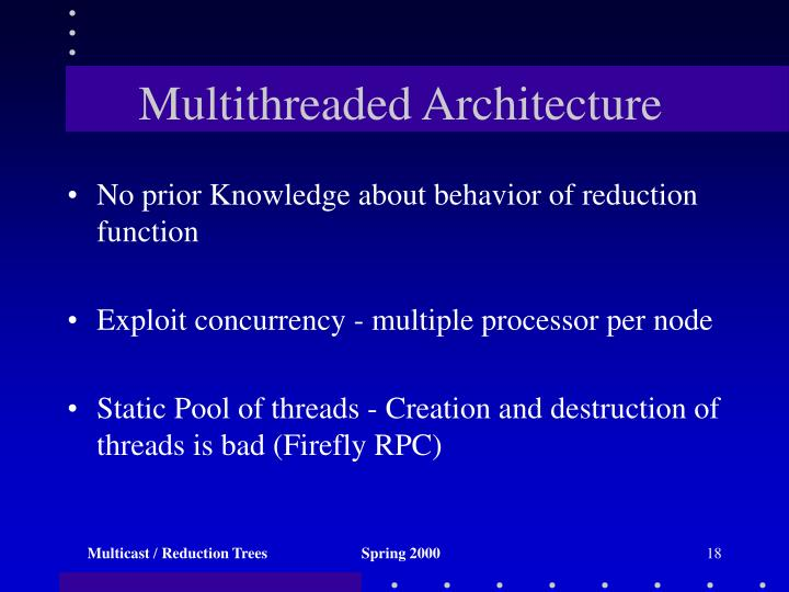 Multithreaded Architecture