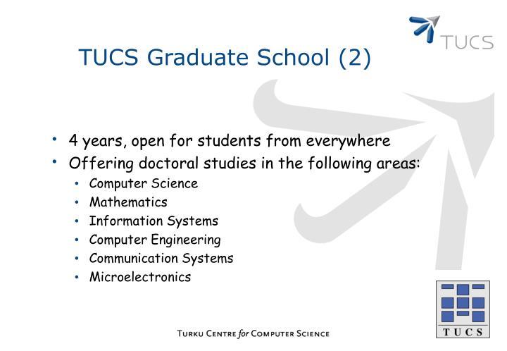 TUCS Graduate School (2)