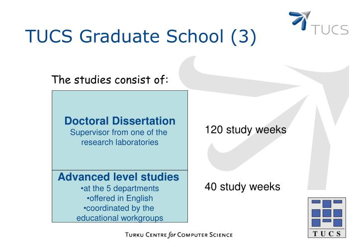 TUCS Graduate School (3)