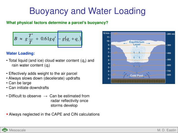 Buoyancy and Water Loading