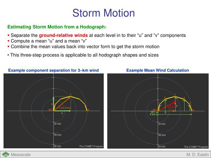 Storm Motion