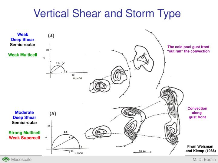 Vertical Shear and Storm Type