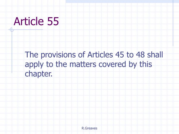 Article 55