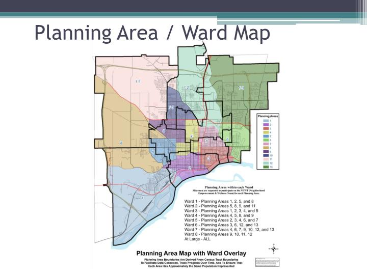 Planning Area / Ward Map