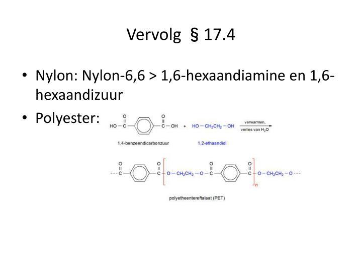 Vervolg §17.4
