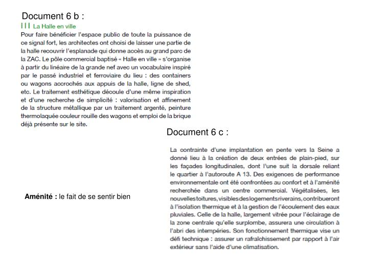 Document 6 b :