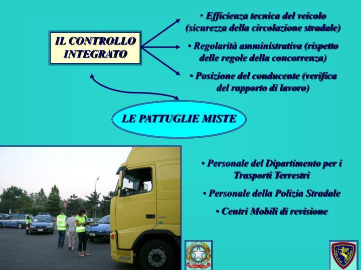 Efficienza tecnica del veicolo (sicurezza della circolazione stradale)