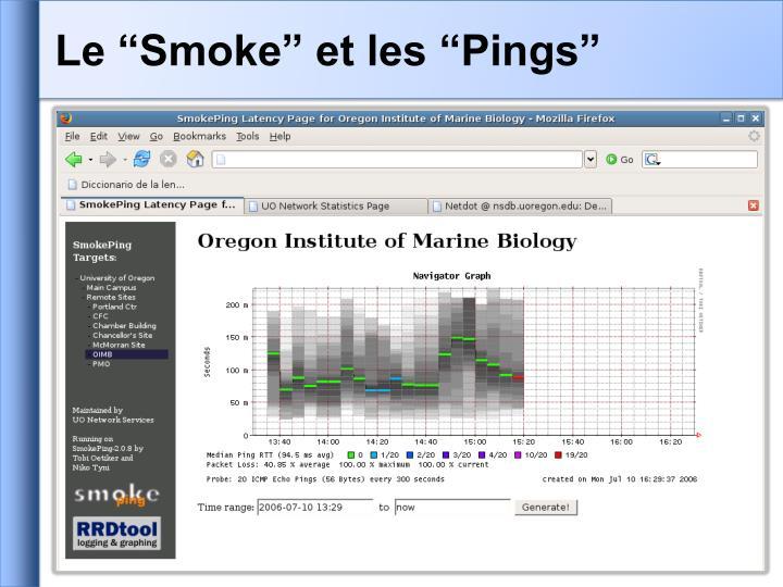"Le ""Smoke"" et les ""Pings"""