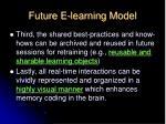 future e learning model1
