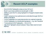 recent uclp examples