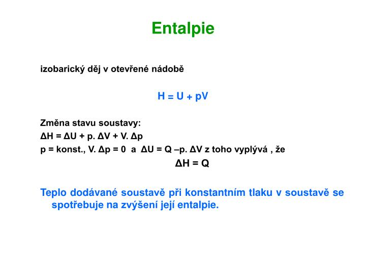 Entalpie