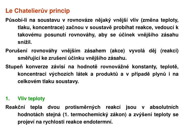 Le Chatelierův princip