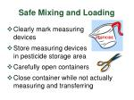 safe mixing and loading3