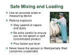 safe mixing and loading4