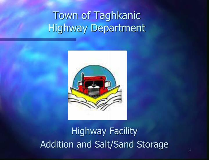 Town of taghkanic highway department