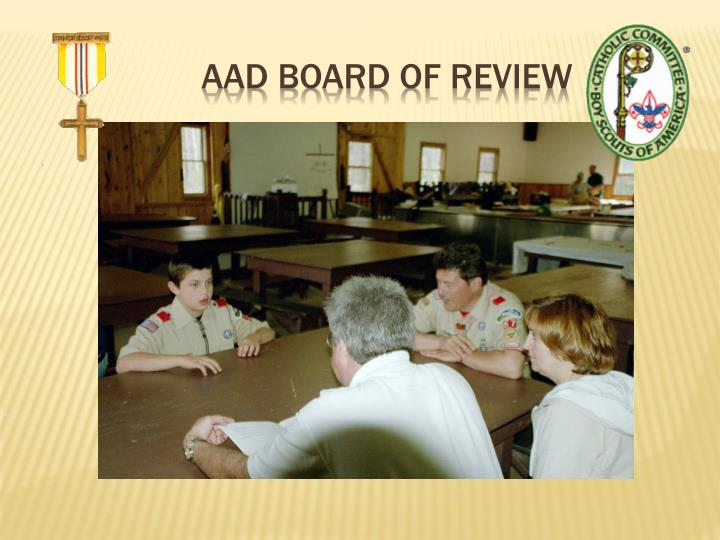 AAD Board Of Review