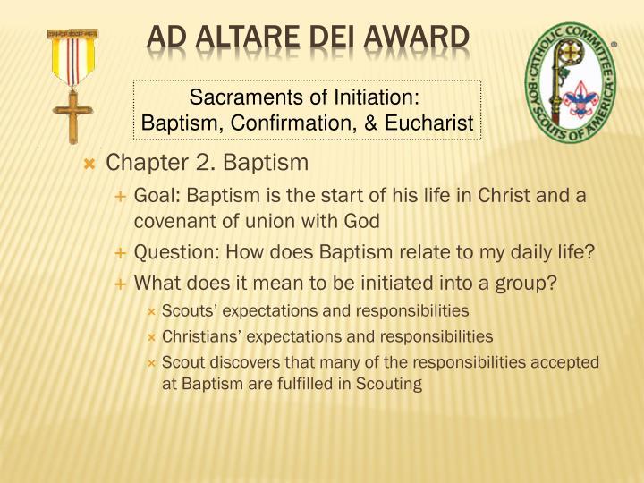 Chapter 2. Baptism