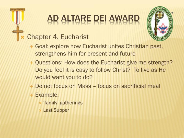 Chapter 4. Eucharist