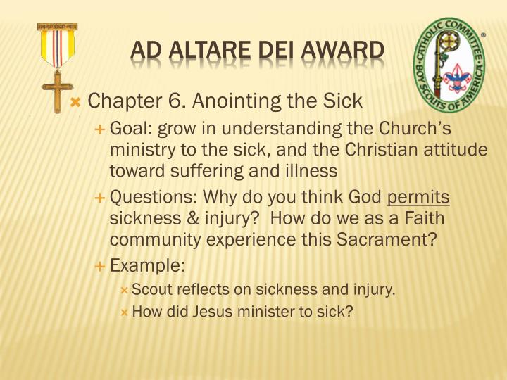 Chapter 6. Anointing the Sick