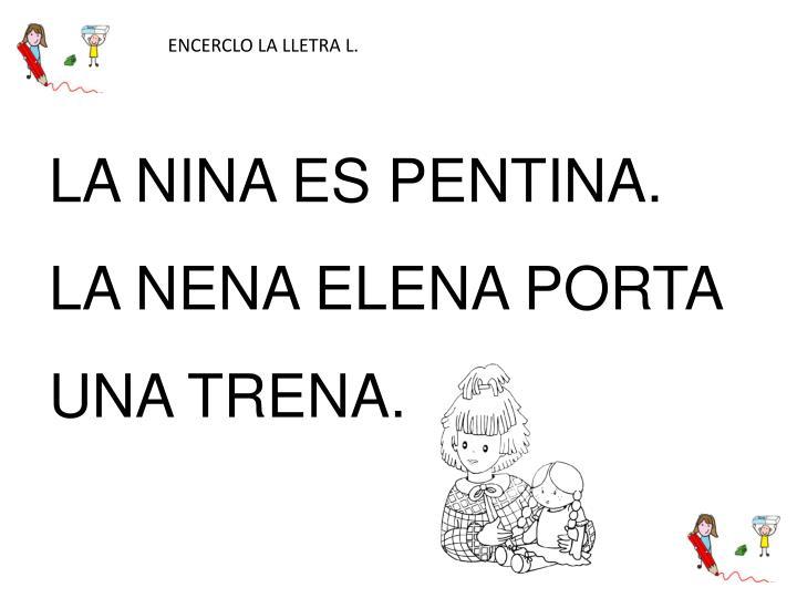 ENCERCLO LA LLETRA L.