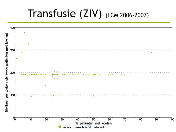 Transfusie (ZIV)