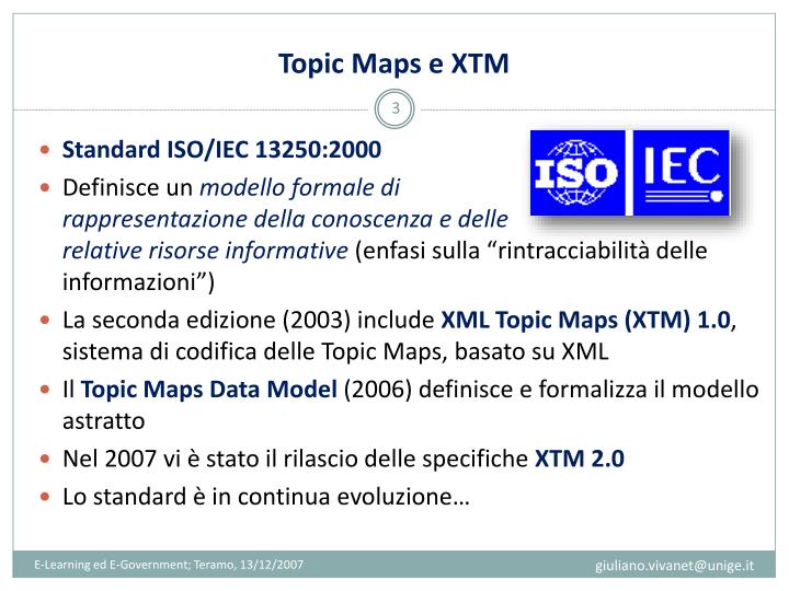 Topic Maps e XTM