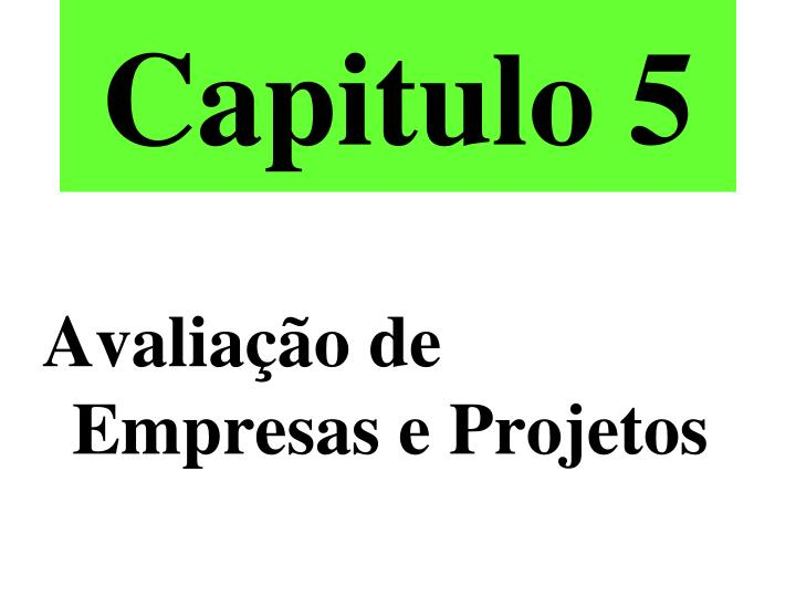 Capitulo 5