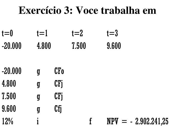 Exercício 3
