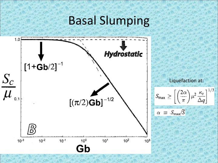 Basal Slumping