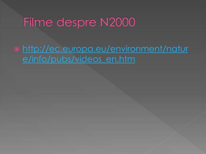 Filme despre N2000